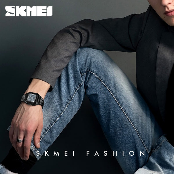 SKMEI Military Sports Wristwatches Electronic Mens Wristwatches Top Brand Luxury Male Waterproof LED Digital Wristwatch