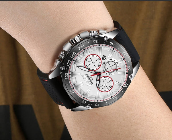 BOSCK Business Quartz Wristwatch Men  Top Brand Luxury Famous Male Full Steel Waterproof Date Wristwatch Sports