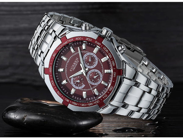 CURREN Top Brand Luxury Men's Quartz Sports Wristwatches Military Wristwatches Casual Full Steel Men Wristwatch Waterproof