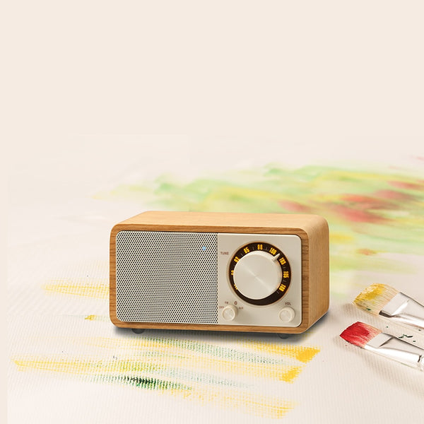 Sangean PURE bluetooth speaker mini radio Bluetooth speaker radio fm portable radio