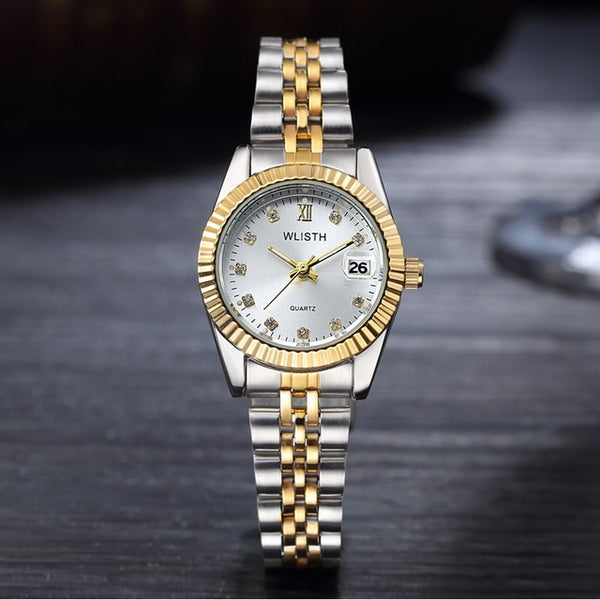 Wlisth Quartz Wrist Wristwatch Women Wristwatch Top Brand Luxury Famous Wristwatch Ladies Calendar