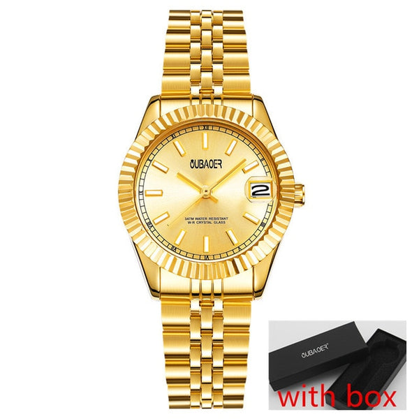 OUBAOER Original Brand Women Wristwatches Luxury Quartz Wristwatches For Women montre femme women relogios feminino horloge
