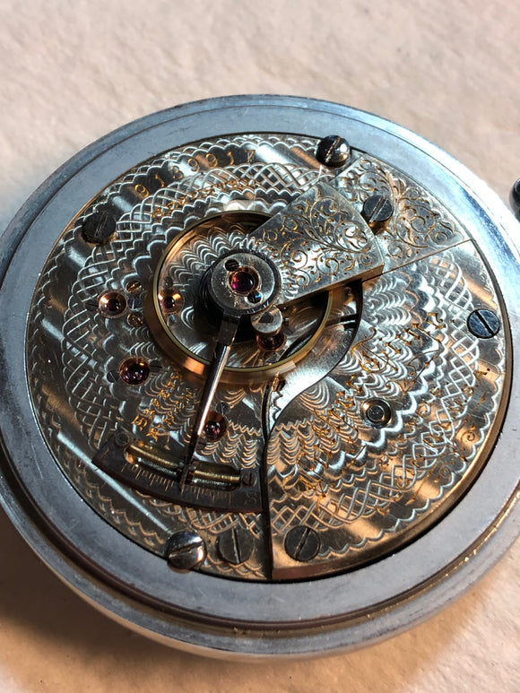 Elgin Father Time 21 Jewel Pocket Watch.