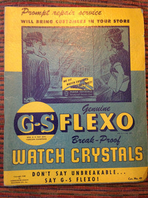 BB and GS Watch Crystal Catalogs