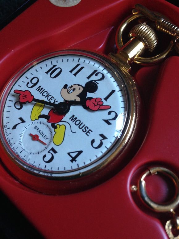 Mickey Mouse Pocket Watches Are Still Popular.