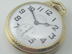 The Last Hamilton 992B Pocket Watches.