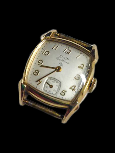 Elgin De Luxe Gents Wrist Watch