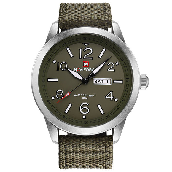 NAVIFORCE 9101 - MEN'S SPORTS MILITARY QUARTZ WATCH