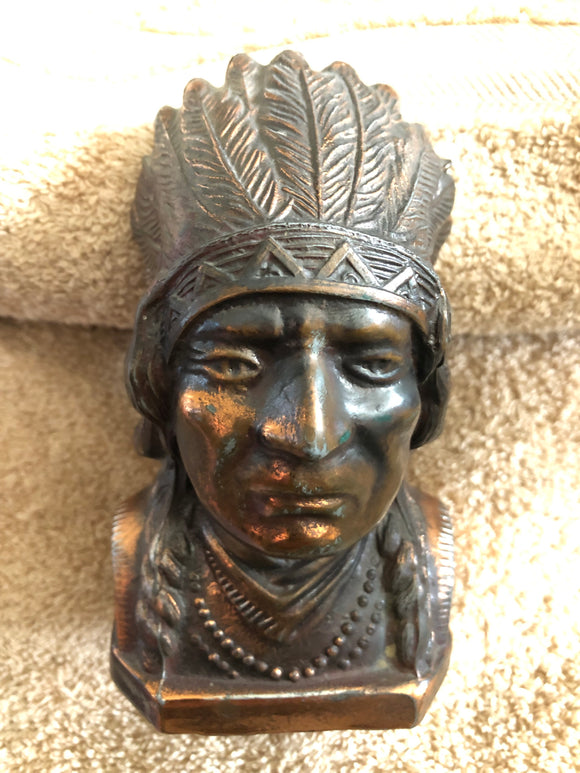Indian Chief Piggy Bank