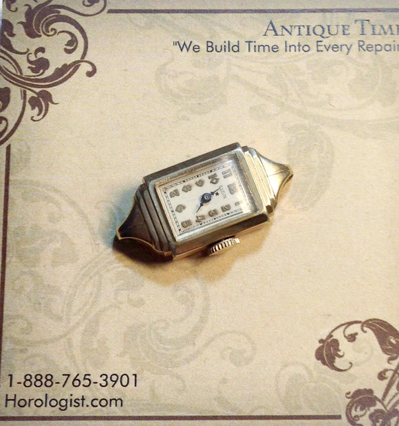 Lady Elgin Wrist Watch With Star Dial