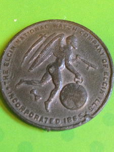 Elgin Watch Father Time Token