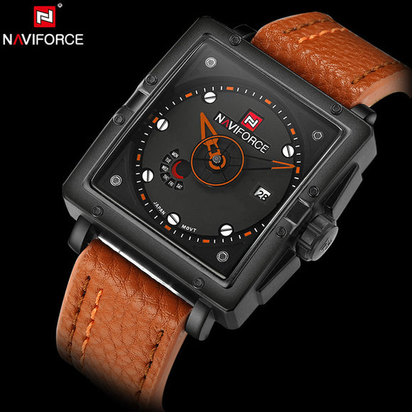 NAVIFORCE 9065 - MEN'S SPORTS MILITARY QUARTZ WATCH
