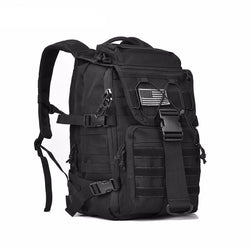 "REEBOW BLACK DAYPACK MILITARY TACTICAL BACKPACK FOR 14"" 15"" 15.6"" LAPTOPS"