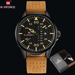 NAVIFORCE 9074 - MEN'S SPORTS MILITARY QUARTZ WATCH