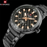 NAVIFORCE 9090 - MEN'S SPORTS MILITARY QUARTZ WATCH
