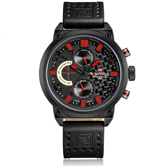 NAVIFORCE 9068L - MEN'S SPORTS MILITARY QUARTZ WATCH