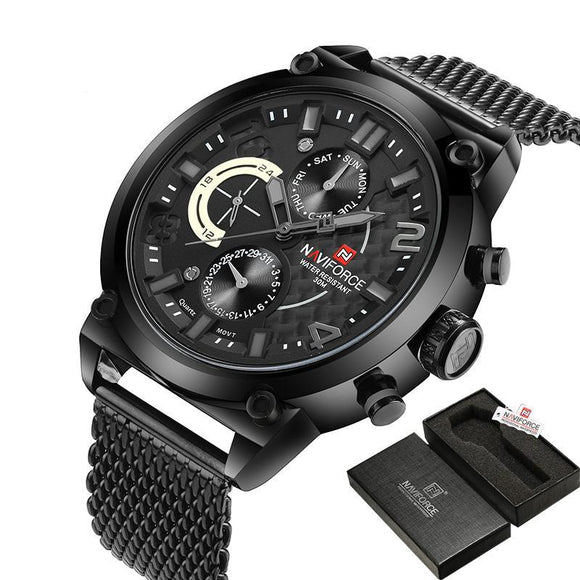 NAVIFORCE 9068 - MEN'S SPORTS MILITARY QUARTZ WATCH