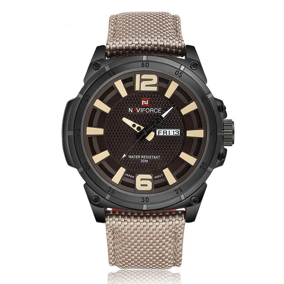 NAVIFORCE 9066 - MEN'S SPORTS MILITARY QUARTZ WATCH