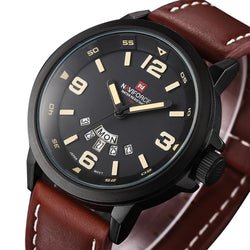 NAVIFORCE 9028 - MEN'S SPORTS MILITARY QUARTZ WATCH