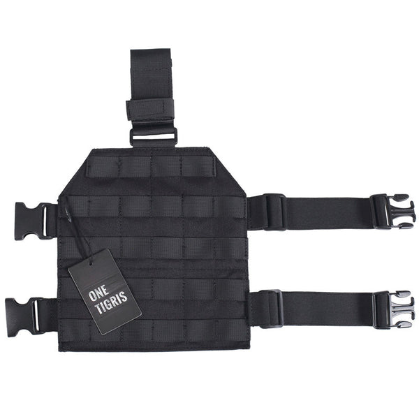 ONETIGRIS MOLLE TACTICAL DROPLEG PLATFORM WITH QUICK RELEASE BUCKLE