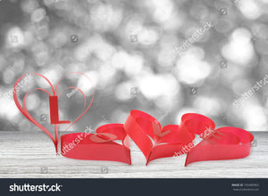 Lovely red Valentine hearts inspirer a theme of LOVE for that special loved one.