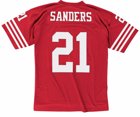 Deion Sanders San Francisco 49ers Replica Jersey