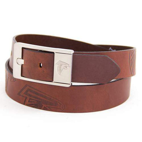 Atlanta Falcons Brandish Leather Belt