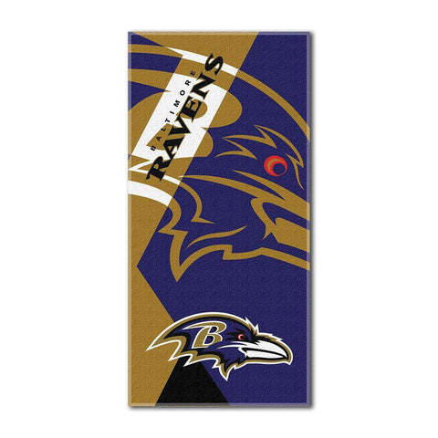 Baltimore Ravens Over-Sized Beach Towel