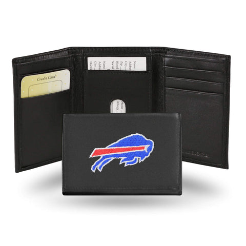 Buffalo Bills Embroidered Trifold Wallet