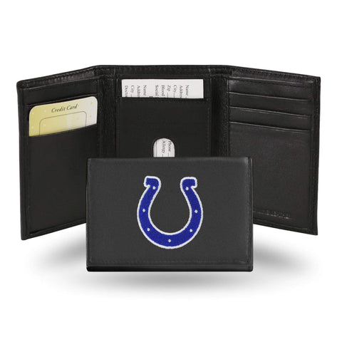 Indianapolis Colts Embroidered Trifold Wallet