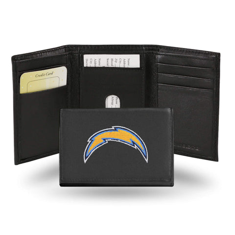 Los Angeles Chargers Embroidered Trifold Wallet