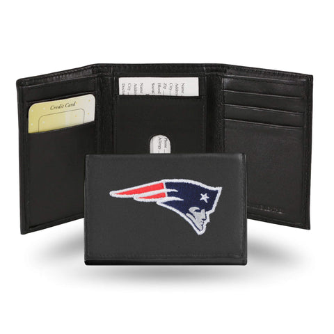 New England Patriots Embroidered Trifold Wallet