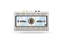 Boston Bruins Field Cribbage Board