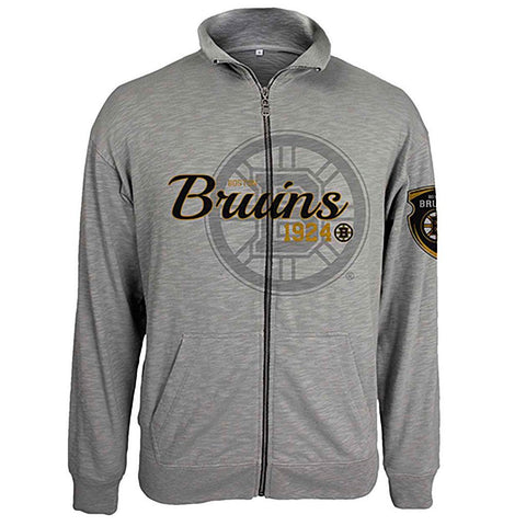 Boston Bruins Tried and True Full Zip Jacket