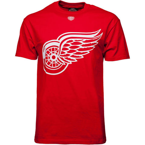 Detroit Red Wings Old Time Hockey Big Logo T