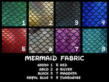 Mermaid Sleeveless Crop Top