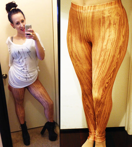 Pinocchio's Wooden Leggings