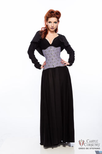 Haunted Manor Long Line Corset