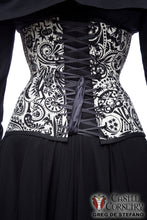 Midnight Muertos Long Line Corset