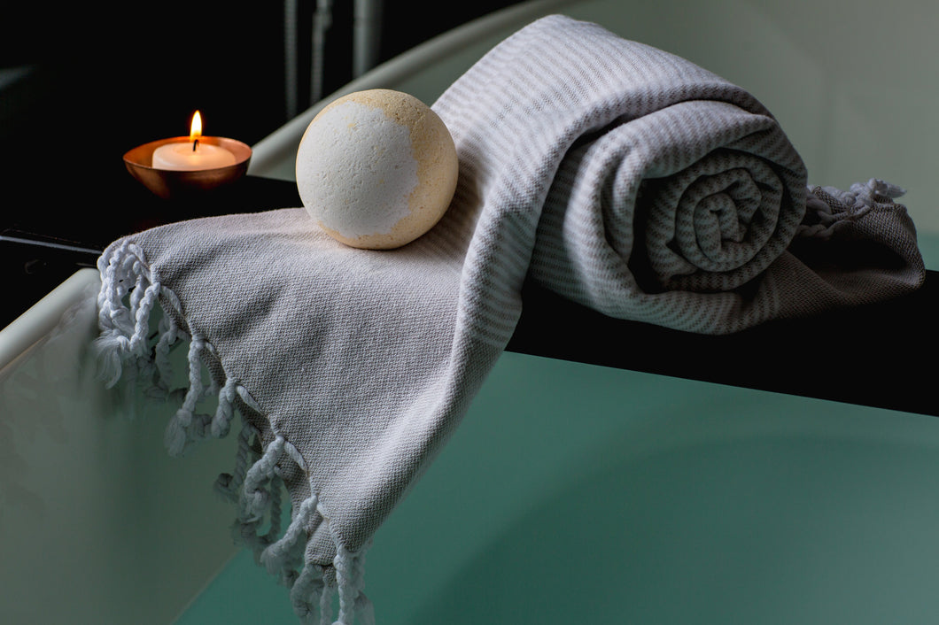 relaxation bath candles spa