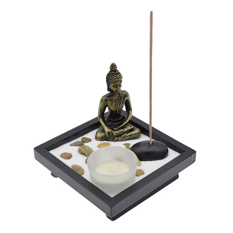 Buddha Zen Garden Incense Burner