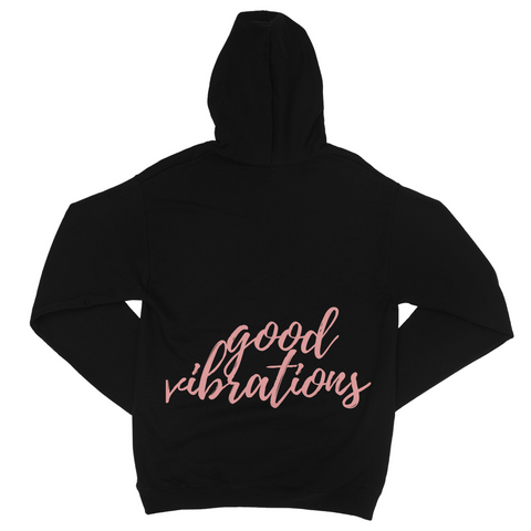 'Good Vibrations' Jersey Zip Hoodie