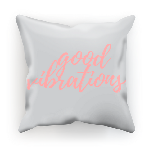 'Good Vibrations' Pillow