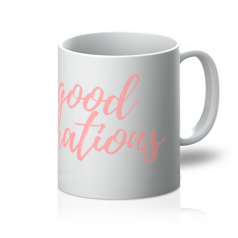 'Good Vibrations' Coffee Mug