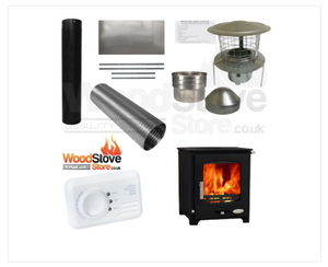 Woolly Mammoth 5kw Defra Stove Installation Kit ONLY £550.00