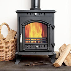 8kh Classic Vision Wood Burning Log Burner