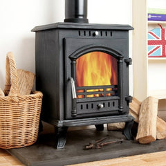 8KW Classic Vision Wood Burning Log Burner