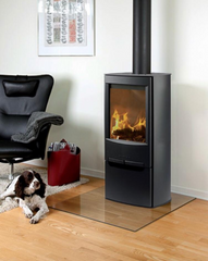 Wiking Miro 4 4.9kw Defra Wood Burning Stove Log Burner Mutlifuel Wood Stove Store