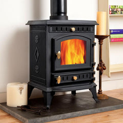 7kw Woodsman Wood burning, Log Burner, Multi Fuel Stove
