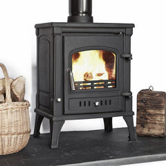 7-8kw Vision 2 Wood burning, Log Burner, Multi Fuel Stove
